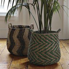 I love the Patterned Baskets on westelm.com
