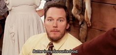 Butter is Andy Dwyer's favorite food | #ParksandRec