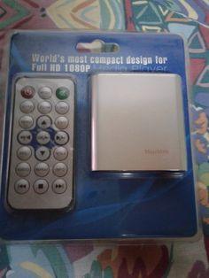 mini media player 1080p full hd  usb/sd hdmi mkv - avi - jpg