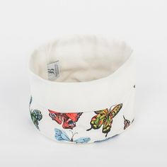 Genießen Sie das Frühstück mit einem schön gedeckten Tisch und unseren Brotkörbchen im Schmetterlings-Design #Brotkörbchen #Schmetterlinge #Butterfly #tissu #Deko #Heimtextilien