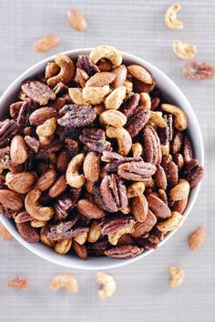 Do you struggle with snack ideas? We do sometimes, but have found that keeping it simple is usually key. These spicy nuts are a Paleo friendly way to enjoy mixed nuts.