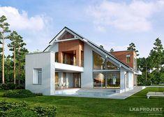 Projekty domów LK&Projekt LK&1134 wizualizacja 3
