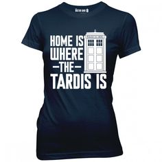 Doctor Who Home Junior T-Shirt