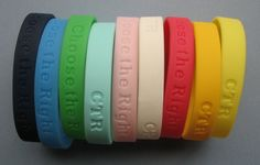 Choose the Right Bracelets - Primary birthday idea.
