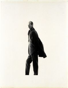 (One photographer to another) Norman Parkinson Photographed by Irving Penn. Published in Vogue, October 15, 1958.
