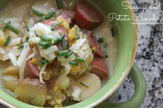 Dinner Tonight: Sausage and Potato Chowder