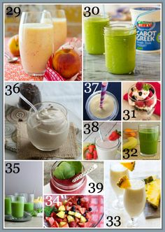 80+ Healthy Breakfast Recipe ~ Smoothies, Fruit and Parfaits