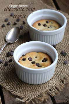 It's ooey, it's gooey, and it serves just one person. Dive into this deep dish,single serve chocolate chip cookie for a serious low carb treat. I am known for a lot of things, but I a…