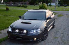 Subaru Legacy Gt Wagon, 2005 Subaru Legacy Gt, 2005 Subaru Outback, Wrx Wagon, Tuner Cars, English Writing, Led Headlights, Impreza, Jdm