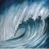 Found it at Wayfair - Crashing Wave Original Painting