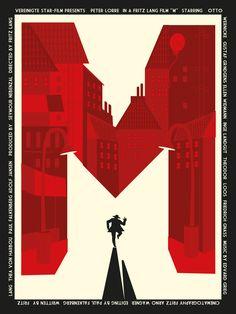 Fritz Lang M poster by ~rodolforever on deviantART