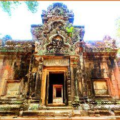 Minor temple at Angkor Wat.
