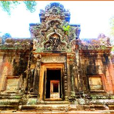 Minor temple at Angkor Wat.