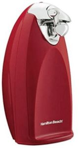 Hamilton Beach Ensemble Electric Can Opener, Tall, Red Red Kitchen Appliances, Best Appliances, Kitchen Gadgets, Specialty Appliances, Kitchen Countertop Decor, Kitchen Dining, Kitchen Decor, Metal Cutter, Cord Storage