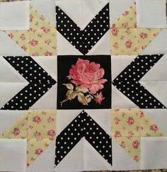 Blue Berry pie quilt block, Beautiful!
