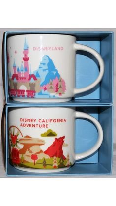 """BUY IT NOW""... ONLY $43.92  (WE ACCEPT PayPal And MOST MAJOR CREDIT CARDS).....DISNEYLAND & CALIFORNIA ADVENTURE EXCLUSIVE 2016 STARBUCKS ""YOU ARE HERE"" MUGS ... ONLY AVAILABLE AT THE ""STARBUCKS COFFEE LOCATION INSIDE DISNEYLAND"".... A ""DISNEYLAND EXCLUSIVE""... PLUS ALSO INCLUDED YOU GET : (1) COMPLETE SET OF (3) ""DISNEYLAND Limited Edition 60th DIAMOND ANNIVERSARY PRESSED COINS (QUARTERS) ... (PLEASE CLICK-ON THE PICTURE TWICE TO SEE MORE GREAT DETAILS AND GREAT PICTURES ON THIS…"