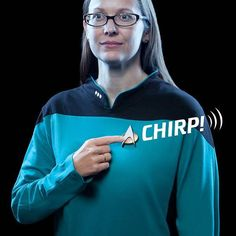 Star Trek TNG Bluetooth ComBadge Lets You Answer Calls, Control Music and More in a Futuristic Way