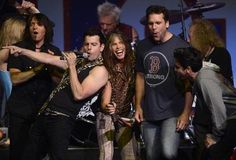 New Kids On the Block and Aerosmith at the Boston Strong concert