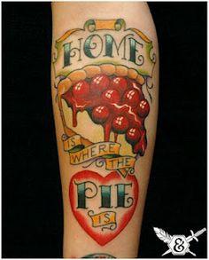 Cherry Pie! Ink and Dagger tattoo in Decatur, Georgia