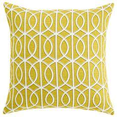 DwellStudio Home Gate Citrine Pillow #laylagrayce #customerfave #pillow