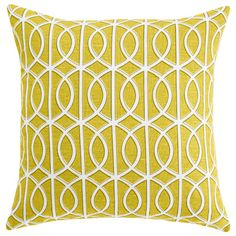 DwellStudio Home Gate Citrine Pillow #laylagrayce #customerfave #pillow