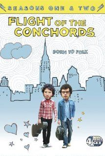 Bret and Jermaine are Flight of the Conchords, a folk-rock band from New Zealand living in New York City in search of stardom. Alex and i watched this the night we met. I HATED IT lol Best Tv Shows, Favorite Tv Shows, Favorite Things, Jemaine Clement, Flight Of The Conchords, Watch Live Tv, Comedy Tv, Comedy Series, Tv Episodes