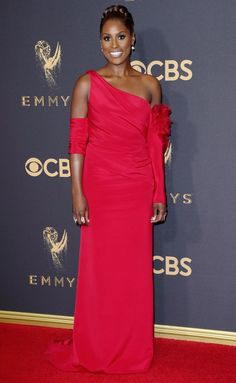 Emmys 2017 Best and Worst Dressed on the Red Carpet - Issa Rae in Vera Wang