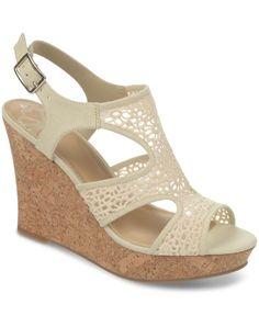 Fergalicious Kammi Crochet Platform Wedge Sandals - Wedges - Shoes - Macy's