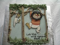 Where the Wild Things Are by alimonkey on Cake Central