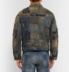 KAPITAL - Boro Patchwork Denim Jacket