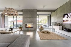 What Are The Characteristics Of Modern House Design? - Preferred Homes What are the characteristics of modern house design? - Preferred Homes modernist house design - Modernist House Wall Mount Electric Fireplace, Electric Fireplaces, Luxury Vinyl Plank, Fireplace Design, Tv Fireplace, Fireplace Furniture, Custom Fireplace, Concrete Fireplace, Minimalist Home