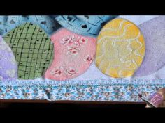 Pintura em tecido Eliane Nascimento: Mini rosas - YouTube