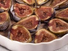 Higos horneados con canela y miel. Roasted figs with cinnamon and honey