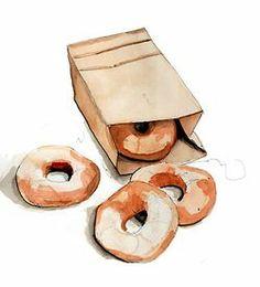 doughnuts by Tracy Hetze