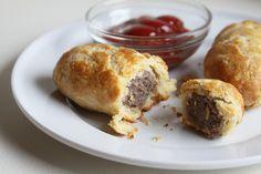 Dutch Saucijsjes (aka Dutch Pig in the Blanket)   Espresso and Cream - this one has a recipe!