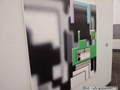 ruhrgebietMITTE - er bloggt - betreibt Kulturvermittlung: Ausstellungseröffnung RE Kunsthalle: ... 2014 Positionen ... | Malerei/Ruhr von Schwarz bis Weiß