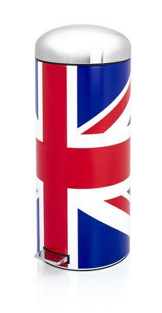 Union Jack Retro Bin by Brabantia Life