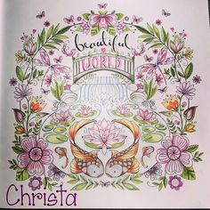 #joyousbloomstocolor #elerifowler #fabercastellpolychromos Adult Coloring Book Pages, Coloring Books, Coloring Pages, Faber Castell Polychromos, Coloring Tips, Colouring Techniques, Color Pencil Art, Prismacolor, Beautiful Creatures