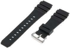 Voguestrap TX2232 Allstrap 22mm Black Regular-Length Fits Casio Sport Watchband by Voguestrap -- Awesome products selected by Anna Churchill