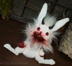 Flesh Eating Jackalope Art Doll by Magweno on Etsy Flesh Eating, Albino, Cute Baby Animals, Amazing Art, Art Dolls, Cute Babies, Christmas Ornaments, Christmas Ideas, Creatures