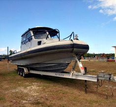 Just in time for spring! Get a great deal on this Marine Police Boat on GovLiquidation. Bidding starts at $25!