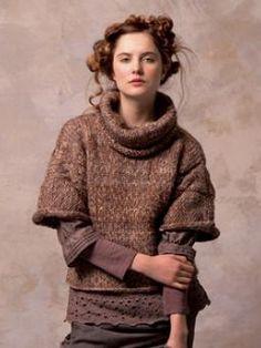 Rowan Swaddle (yarn is drift)