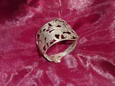 Nostalgischer Blumenarmband 800er Silber  AB211 von Atelier Regina auf DaWanda.com