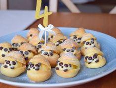 Ovesné sušenky s chia semínky - Avec Plaisir Profiteroles, Doughnut, Panda, Muffin, Breakfast, Food, Castle Diaper Cakes, Bakken, Morning Coffee