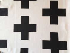 Modern baby blanket. Black and White Plus Organic by Nooches