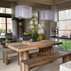 Rustic Modern Dining Room Tables small wagon wheel chandelier downlights rustictherusticantler