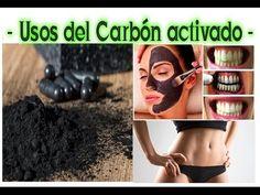 Usos de Carbón activado - Remedios Naturales - Desintoxicar Adelgazar - YouTube