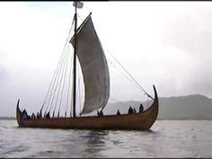 THE    VIKING     SHIP Viking Ship, Vikings, Sailing, Youtube, The Vikings, Candle, Youtubers, Youtube Movies, Viking Warrior
