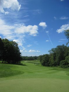 The par 5, #5 at The Stanwich Club