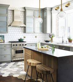 Not sure which tile to choose for your dream kitchen? Pick both. While mixing two tile styles was once considered a design faux pas, modern homes are proving that carefully pairing tiles can...